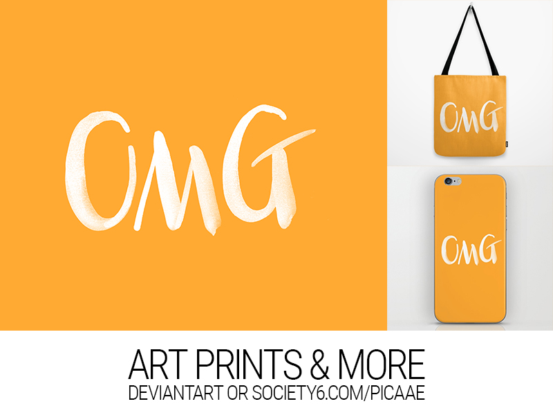 OMG - Art Print by pica-ae