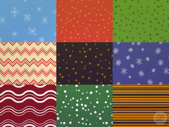 Slightly Patterned Christmas by pica-ae