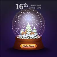 Jolly Days Snowglobe