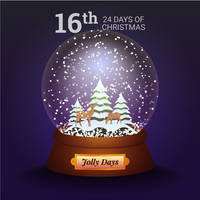 Jolly Days Snowglobe