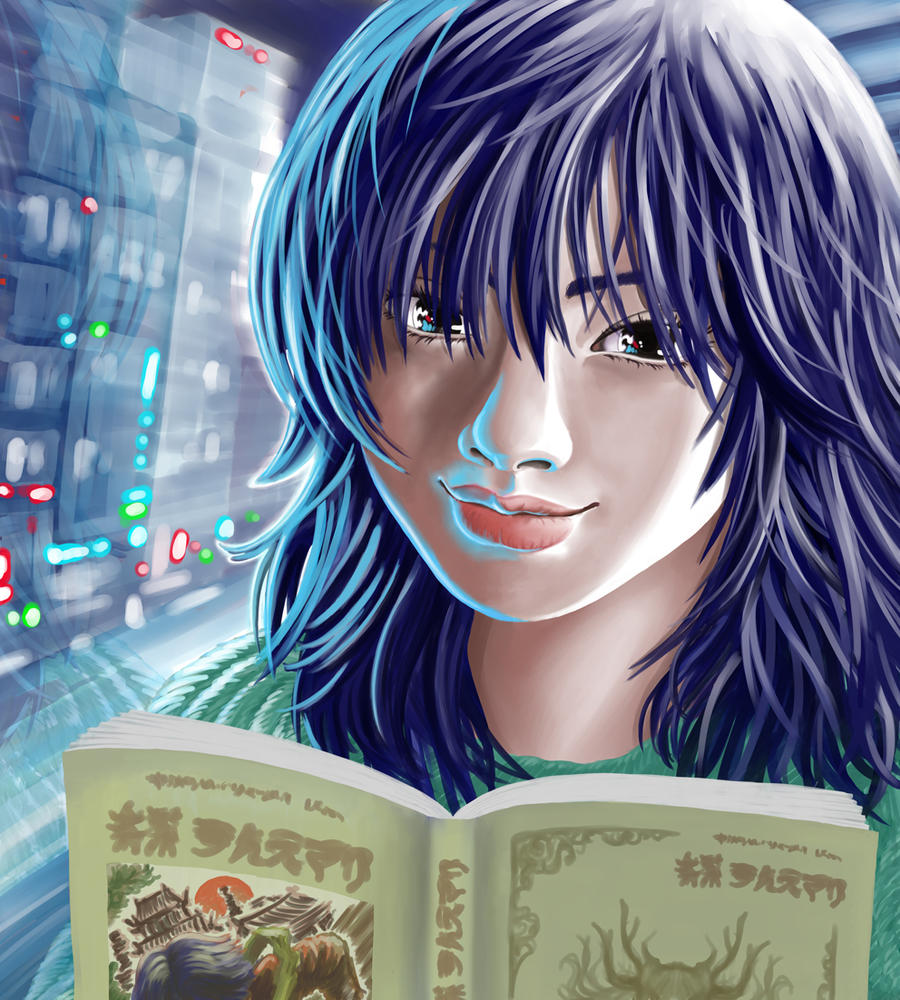 Otaku Girl by DiegoBernardo