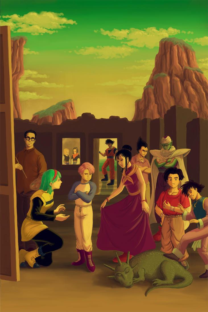 Dragon Ball Meninas by DiegoBernardo