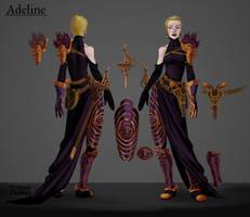 Adeline by MadGeneticist