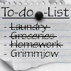 TO-DO LIST by G--Shadow