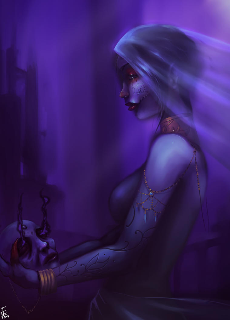 witch of sickness and decay by krimsjod