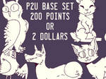 CHEAP P2U BASE SET