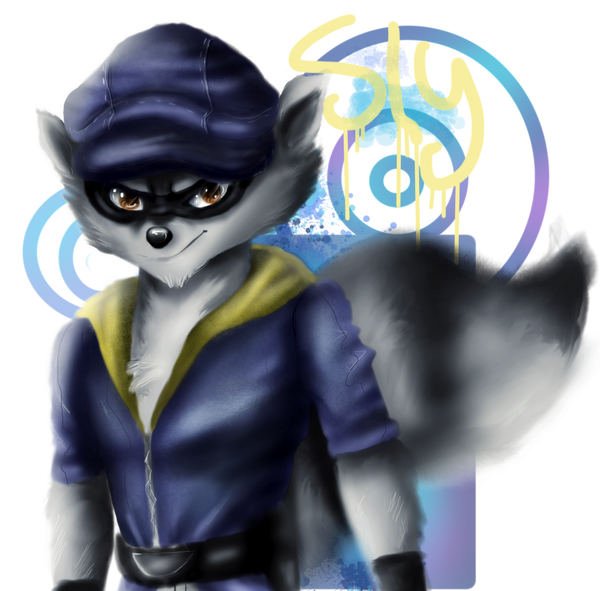 Sly Cooper by NegaZeLL