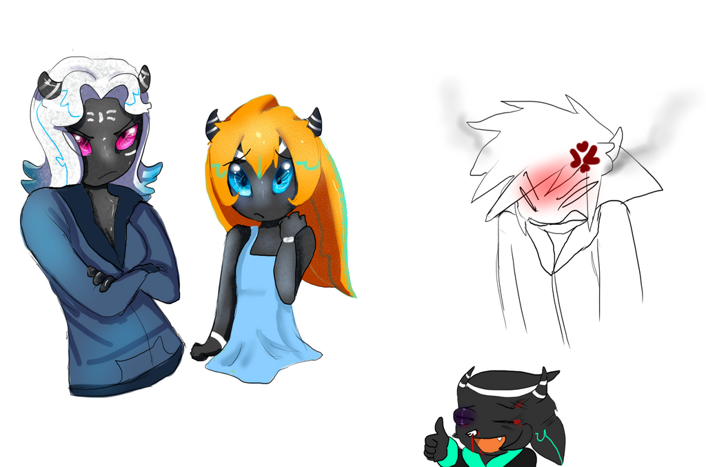I lost a bet #3: Species by LilRedGummie