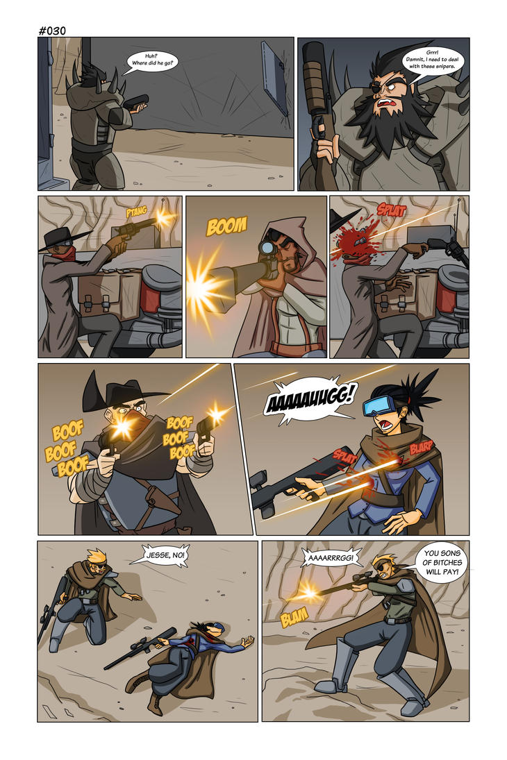 Guncophony Page 030 by TheRedOcelot