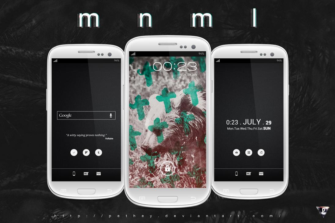 MNML by pethey