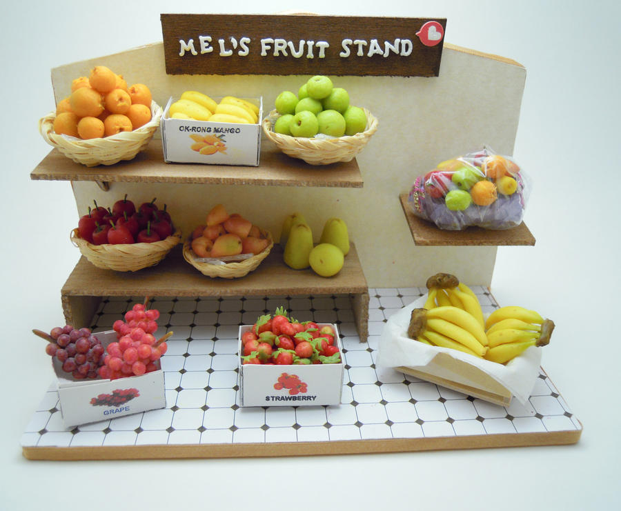 fruit stand 2 by SmallCreationsByMel