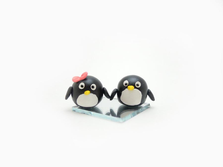 Penguin Couple Drawing Cute Penguin Couple Drawings