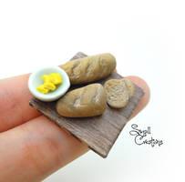 Miniature Bread by SmallCreationsByMel