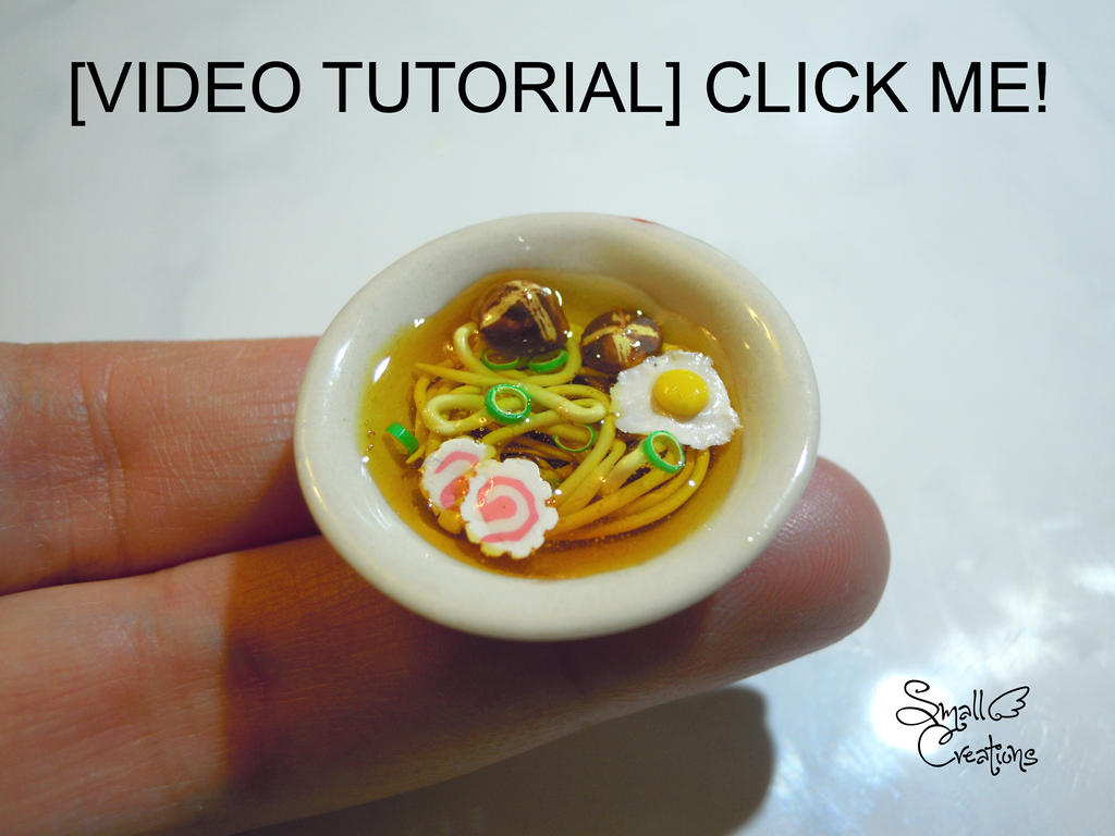 Video Tutorial Ramen by SmallCreationsByMel