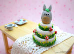 Totoro Themed Cake