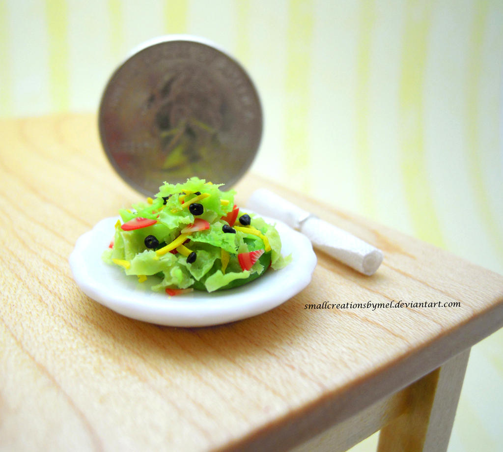 Miniature Salad by SmallCreationsByMel