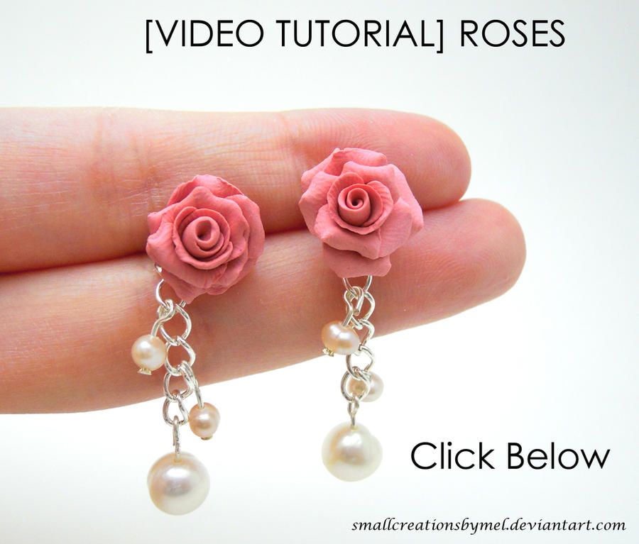 [VIDEO TUTORIAL] ROSES by SmallCreationsByMel