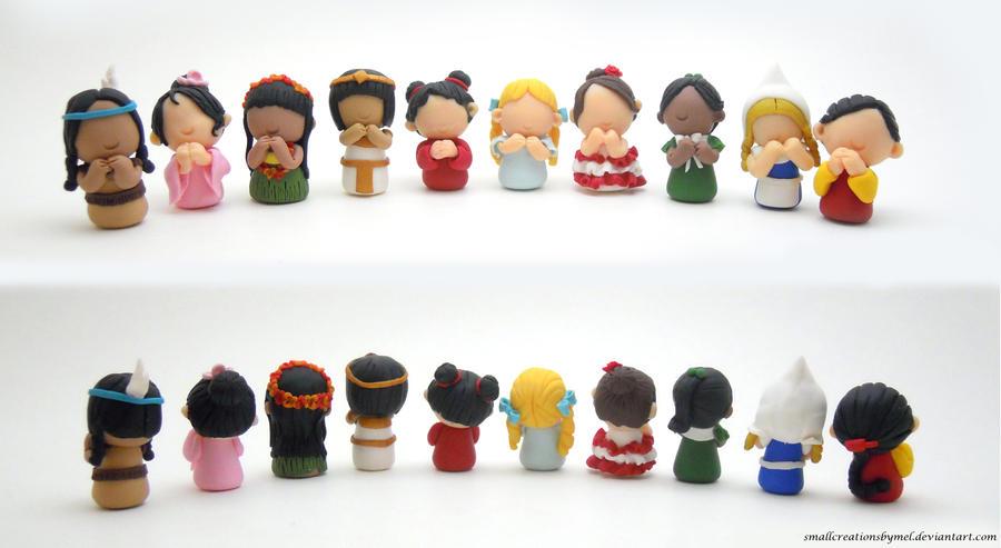 Miniature Girls (WIP) by SmallCreationsByMel