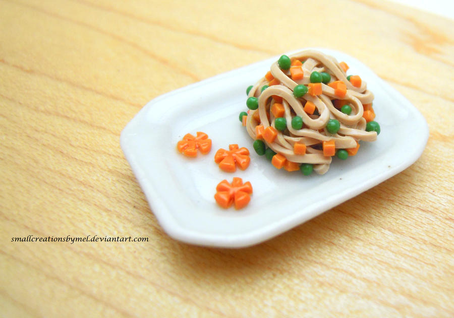Soba Noodles by SmallCreationsByMel