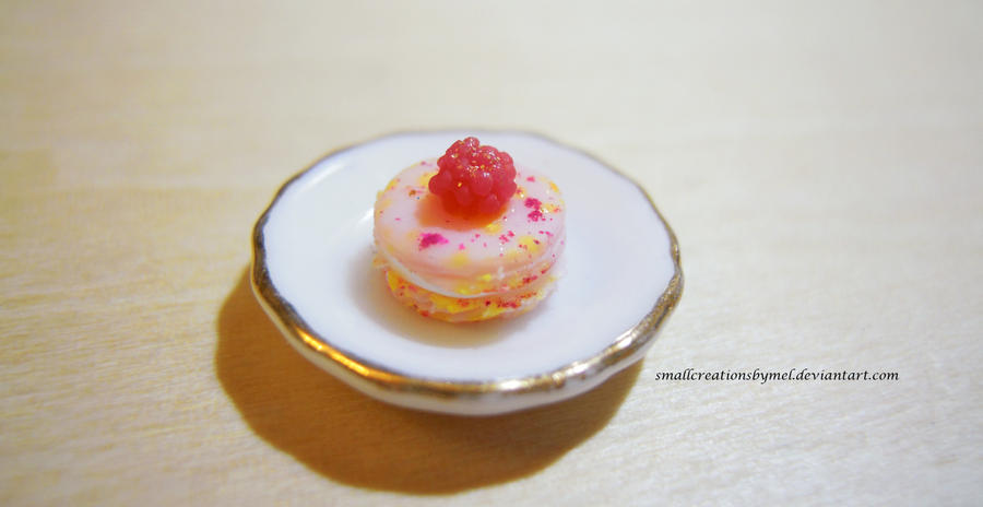 Pink Macaron by SmallCreationsByMel