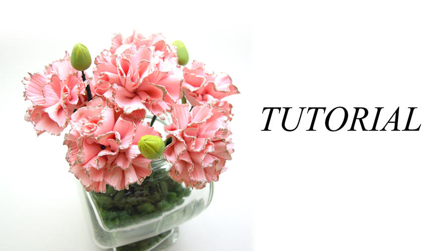 [TUTORIAL] - Carnation Flowers by SmallCreationsByMel