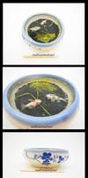 Big Ceramic Koi Pond