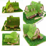 Miniature House - Kiki's Delivery