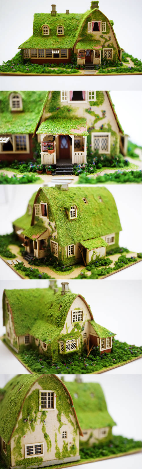 Miniature House - Kiki's Delivery (Close Ups)