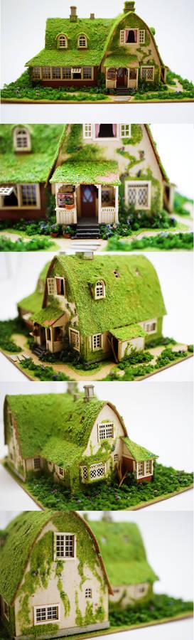 Miniature House - Kiki's Delivery (Close Ups)