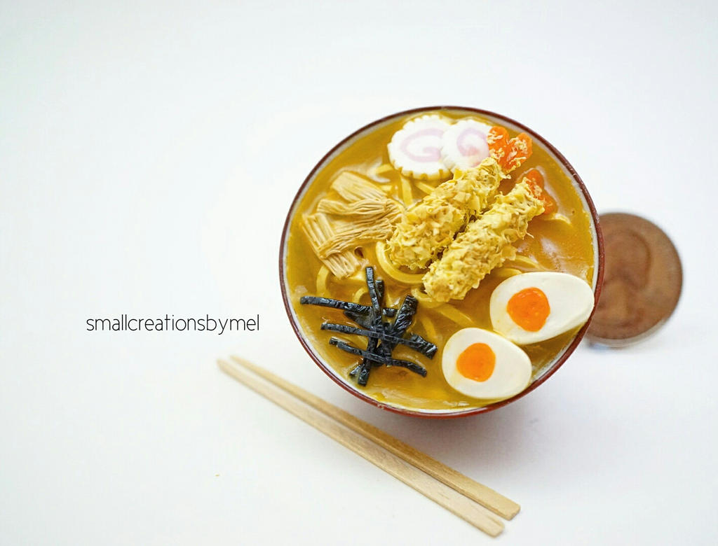 A Bowl of Ramen by SmallCreationsByMel
