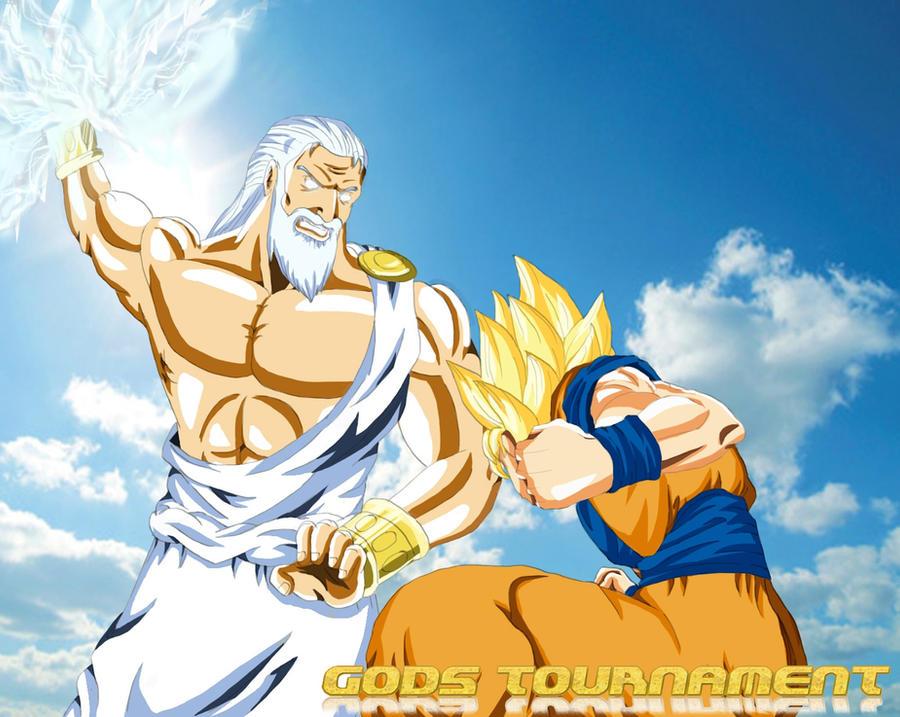 Battle Of Gods - Zeus VS Goku by Yazuda on DeviantArt
