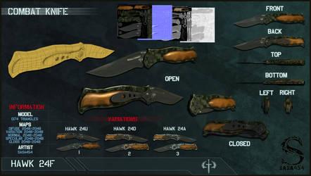 Tactical Knife 'HAWK 24'