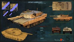 M1A1 Abrams by sasa454