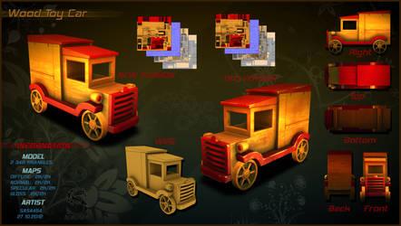 Wood Toy Car Full