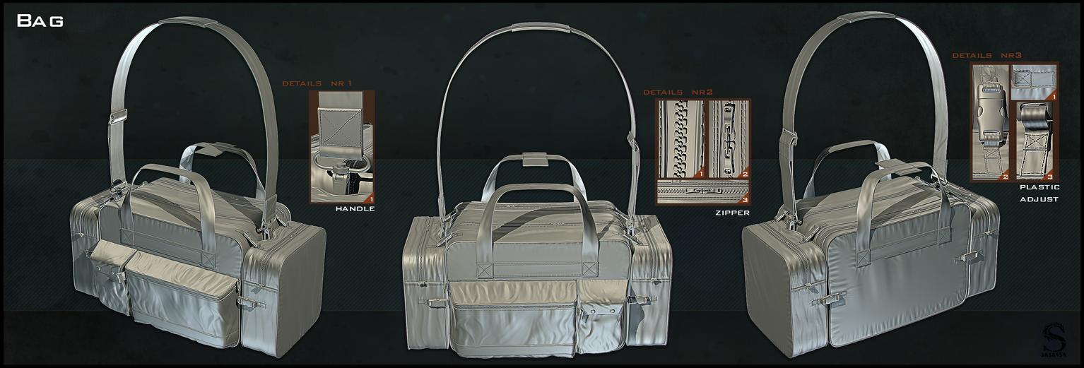 High Poly Bag by sasa454