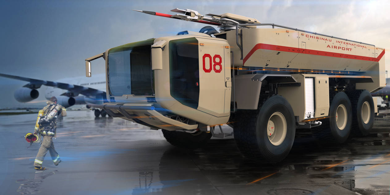 Firefight Truck