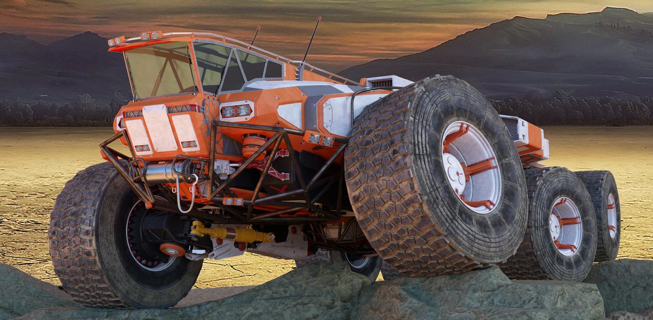 Planetary Exsploration Vehicle by sasa454