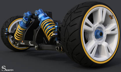 Toy Suspension Whell