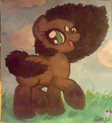 Bay Pony by samsamcupcakes