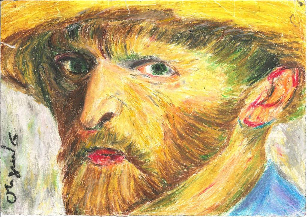 Vincent Willem van Ghog by BluenessProfound