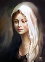 Angel by Algalad