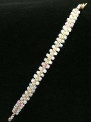 6 inch Bracelet Pearlescent Pastel