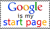 Google is my start page Stamp by The-Horrible-Mu