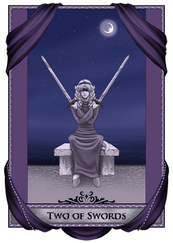 Two of Swords: Tanria