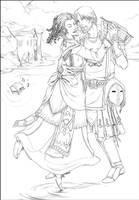 Commission: Agnes and Aurric by RaptorRia