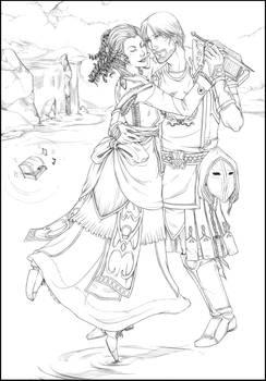 Commission: Agnes and Aurric