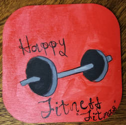 Happy Fitness Fitmas Ornament