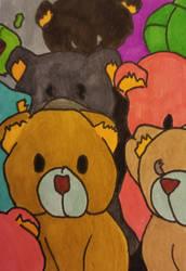Teddy Bear ATC Swapbot