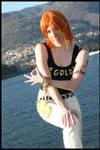 Nami cosplay: Money,please