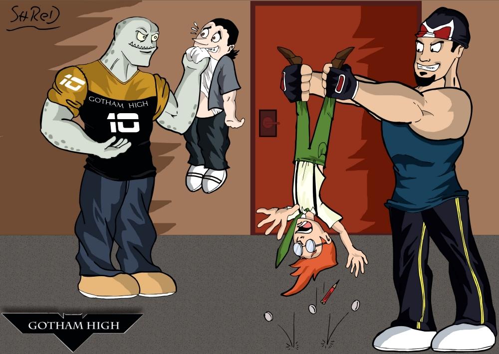 Back to Gotham High 4 by ShredSmiler